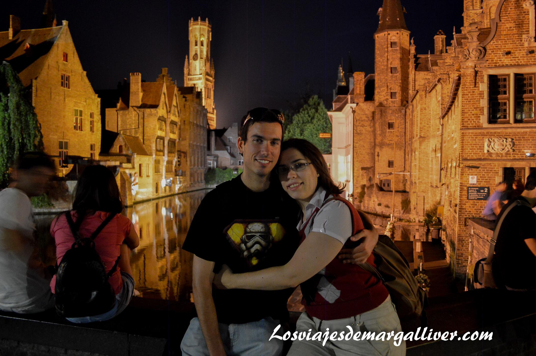 rincón romantico de Brujas , 7 viajes románticos para San Valentín - Los viajes de Margalliver